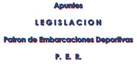 Apuntes legislacion PER